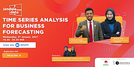 TIME SERIES ANALYSIS FOR BUSINESS FORECASTING tickets