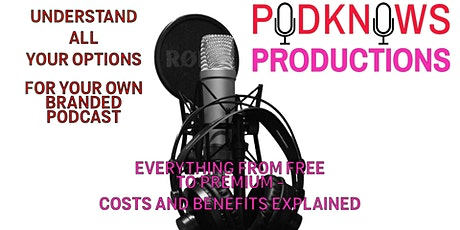 Plan a powerful podcast regardless of budget! tickets
