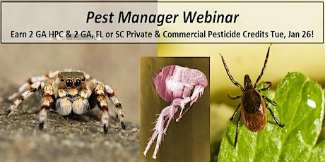 Pest Manager Webinar HPC (Home  Pest Control) tickets