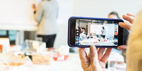 Online Workshop -  Videodreh mit dem Smartphone für Business tickets