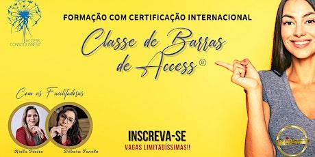 FORMAÇÃO INTERNACIONAL  DE BARRAS DE ACCESS® ingressos