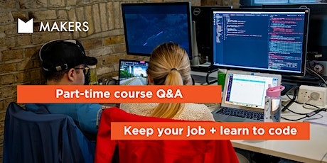 Part-time Coding Course Q&A tickets