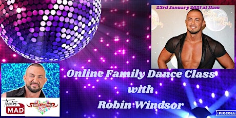 Family Dance Class with ex-Strictly Come Dancing Pro~ Robin Windsor tickets
