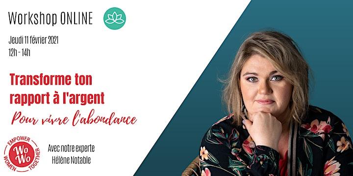Image pour Transforme ton rapport à l'argent pour vivre l'abondance © Hélène Notable