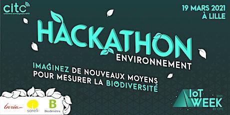 Hackathon  Environnement et Biodiversité lors de l'IoT Week by CITC tickets