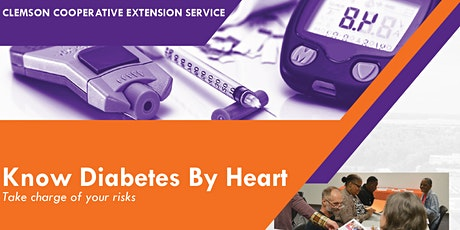 Know Diabetes by Heart: Clemson Health and Nutrition Extension Program tickets