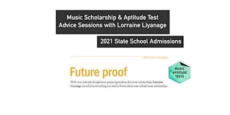 Music Scholarship & Aptitude Test Advice Session (15 min  consultation) tickets