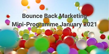 Bounce Back Marketing tickets