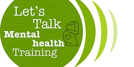 Perinatal Mental Health Level 2 (Intermediate) training tickets