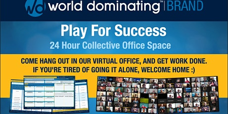 Play For Success - 24 Hour Collective Office Space tickets