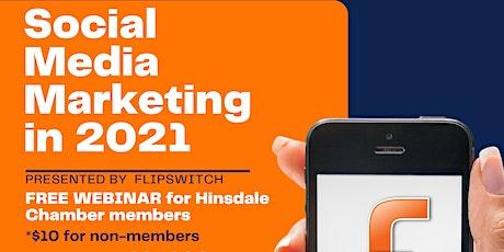 Social Media Marketing Webinar tickets