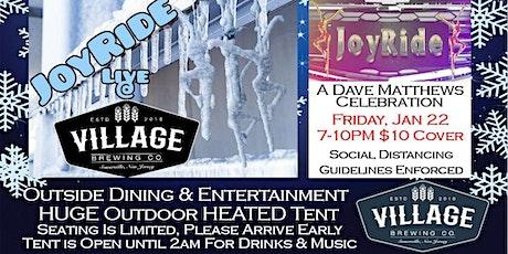 JOYRIDE: A Dave Matthews Band Celebration @Village Brewing Company tickets
