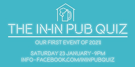 The In-In Pub Quiz - January 2021 Edition tickets