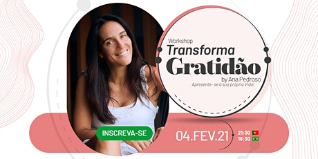Workshop Transforma Gratidão ingressos