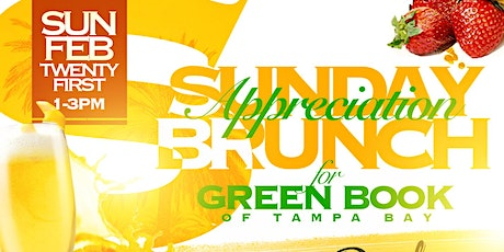 Sunday Appreciation Brunch for Green Book of Tampa Bay tickets