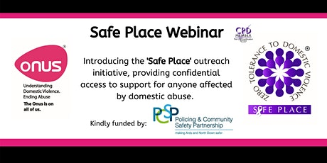 Onus Safe Place Webinar - Ards & North Down Borough Council tickets