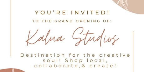 Kalua Studios Grand Opening! Shop Local • #BlackOwned tickets
