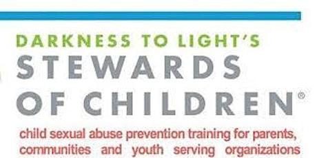 FREE Virtual Stewards of Children tickets