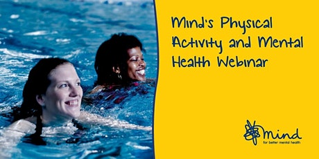 A look back at Mind's physical activity programme from 2018 to 2021 webinar tickets