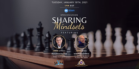 Sharing Mindsets with Colin Sprake tickets
