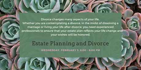 Estate Planning and Divorce tickets