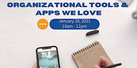Organizational Tools & Apps We Love tickets