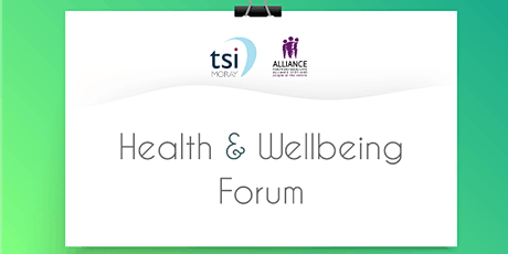 Health and Wellbeing Forum tickets