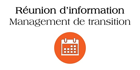 REUNION D'INFORMATION  SUR LE  MANAGEMENT DE TRANSITION OPERIS MANAGERS tickets