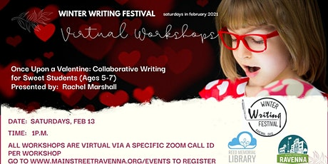 A Virtual Winter Writing Festival:  Once Upon A Valentine... tickets