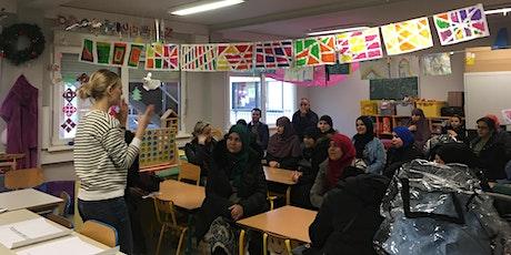 Infosessie  (NL) - Nederlands leren en oefenen voor ouders tickets