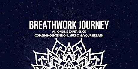 Online Breathwork Journey tickets