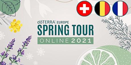 dōTERRA Spring Tour Online 2021 - French Jeudi billets