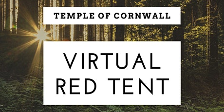 Temple of Cornwall Red Tent - January Full Wolf Moon Gathering - Virtual tickets