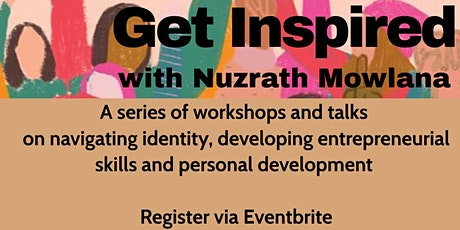 Get Inspired: Seminar 5 of 6 tickets