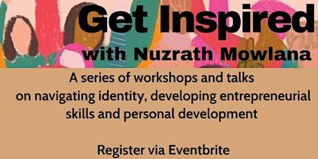 Get Inspired: Seminar 6 of 6 tickets