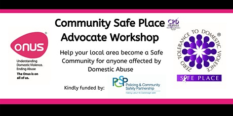 Safe Place Advocates Workshop - Lisburn & Castlereagh City Council tickets
