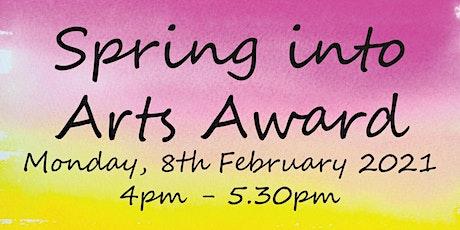 Spring into Arts Award tickets