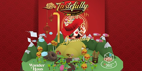 TasteFully - 1st Asia Virtual Augmented Reality New Year Gamification Fair tickets