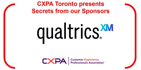 Free Event -  Secrets from our Sponsors - Featuring Qualtrics tickets