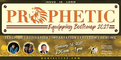 Prophetic Bootcamp 2021 tickets