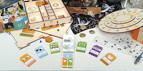 Apprenez à créer votre jeu avec les mécanicartes tickets