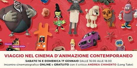 Viaggio nel cinema d'animazione contemporaneo biglietti