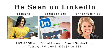 LinkedIn Visibility: Get More Profile Views in 2021 tickets