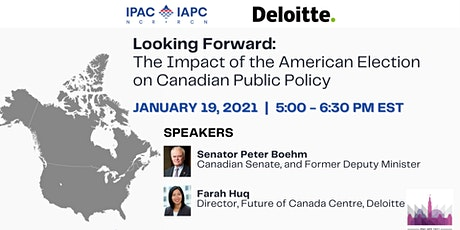 The Impact of the American Election on Canadian Public Policy tickets