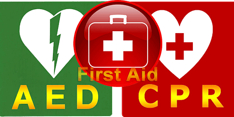 CPR/AED First Aid Training tickets