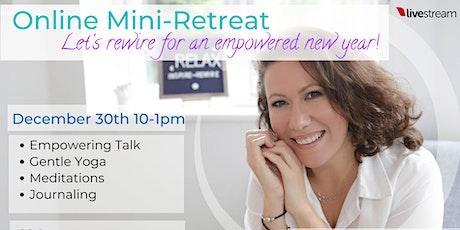 Mini Retreat - Yoga & Journaling (ONLINE) tickets
