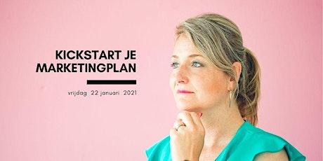 Kickstart je Marketingplan voor MKB Ondernemers tickets