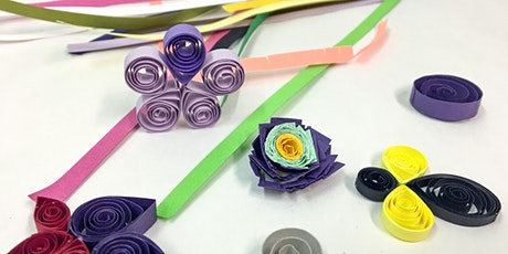 Tech's Tactile Thursdays: No Tool Quilling tickets