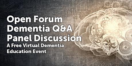Dementia Q&A tickets