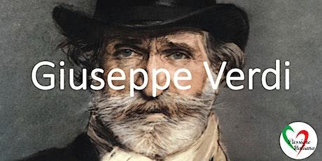 Webinar - Giuseppe Verdi biglietti